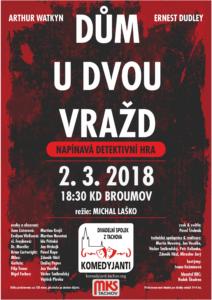 Dům u dvou vražd - Broumov 2/3/2018